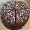 Echte Tony Chocolonely dubbele chocoladetaart